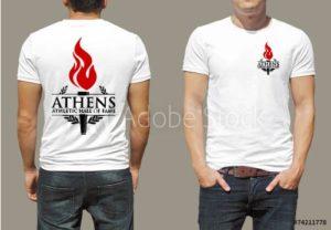 athens hall of fame t-shirt