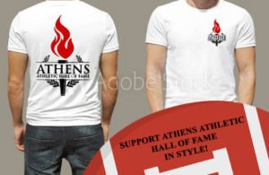 athens hall of fame t-shirts